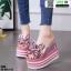 รองเท้าแบบสวมส้นเตารีด ST05-PNK [สีชมพู] thumbnail 1