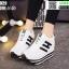 รองเท้าผ้าใบเสริมส้น ST8029-WHI [สีขาว] thumbnail 2