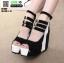 รองเท้าหุ้มส้นทรงเตารีด ST1007-BLK [สีดำ] thumbnail 3