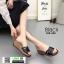 รองเท้าส้นเตารีด สไตล์เกาหลี 028-268-BLK [สีBLK] thumbnail 3