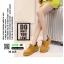 รองเท้าบูทนำเข้าสุดชิค สไตล์เกาหลี M165-น้ำตาล [สีน้ำตาล ] thumbnail 2