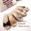 รองเท้าเตารีดโบว์ เปิดส้น 961-25-BWN [สีBWN] thumbnail 2