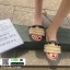รองเท้าแตะสไตล์โบฮีเมียน แต่งพู่ G-1454-APR [สีแอปริคอท] thumbnail 2