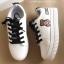 รองเท้าผ้าใบแฟชั่นสีขาว กรีนนูนหมีmoschino (สีขาว ) thumbnail 6