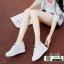 รองเท้าผ้าใบสปอร์ท หนัง pu SG-136-WHT [สีขาว] thumbnail 5