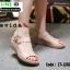 รองเท้าสไตล์สวมรัดส้น 18-1282-PNK [สีชมพู] thumbnail 1