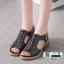 รองเท้าส้นสูงนำเข้า งานคุณภาพเหมือนแบบ 1089-ดำ [สีดำ] thumbnail 3