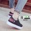 รองเท้าผ้าใบนำเข้า สไตล์เกาหลี K0416-BLACK [สีดำ] thumbnail 3