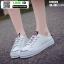 รองเท้าผ้าใบสวมเปิดท้าย ST5520-PNK [สีชมพู] thumbnail 2