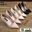 รองเท้าคัชชูงานหนังแก้ว K23114-PNK [สีชมพู] thumbnail 3