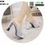 รองเท้าส้นสูง ส้นแท่งแบบสวม ST335-WHI [สีขาว] thumbnail 3