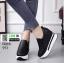 รองเท้าหนัง pu งานเกาหลี 951-ดำ [สีดำ] thumbnail 2