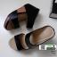 รองเท้าเตารีด Wedge shoe 2 ตอนหุ้มส้น 1146-ดำ [สีดำ] thumbnail 3