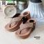 รองเท้าเพื่อสุขภาพ พียู หนีบ PU6130-BRN [สีน้ำตาล] thumbnail 2