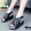 รองเท้าลำลองรัดส้น สไตล์สุขภาพ 981-93-BLK [สีดำ] thumbnail 5