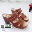 รองเท้าสุขภาพ พื้นนุ่ม 10183-แทน [สีแทน] thumbnail 2