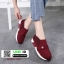 รองเท้าผ้าใบไร้เชือก chanel sneaker 8202-301-RED [สีแดง] thumbnail 5