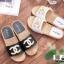 รองเท้าแตะ Chanel แต่งมุก G-1371-WHI [สีขาว] thumbnail 2