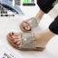 รองเท้าแตะสุขภาพหน้าเพชร ST612-GLD [สีทอง] thumbnail 1