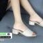 รองเท้าลำลองส้นเหลี่ยม 523-CRE [สีครีม] thumbnail 3