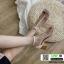 รองเท้าส้นสูงรัดข้อ T-Strapt พลาสติกใส G-1433-WHI [สีขาว] thumbnail 1