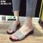 รองเท้าแตะสวมหน้าเพชร ST182-BLK [สีดำ] thumbnail 1