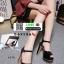รองเท้าส้นสูงรัดข้อเปิดหน้าหลัง 18-1331-BLK [สีดำ] thumbnail 2