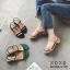 รองเท้าแตะ รัดหลัง G-1151-APR [สีแอปริคอท] thumbnail 3