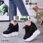 รองเท้าผ้าใบเสริมส้น A57-BLK [สีดำ] thumbnail 2