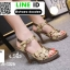 รองเท้าส้นสูงสไตล์YSL 18-1326-GLD [สีทอง] thumbnail 1