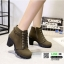 รองเท้าบูทส้นสูงนำเข้า JIH-888-GRN [สีเขียว] thumbnail 2