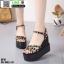 รองเท้าทรงเตารีดแบบรัดข้อ ST10-BLK [สีดำ] thumbnail 2