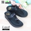 รองเท้าหูคีบแต่งเพชร ฟิทฟลอปหนีบ L2928-BLK [สีดำ] thumbnail 3