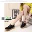 รองเท้าบูทนำเข้าสุดชิค สไตล์เกาหลี M165-ดำ [สีดำ] thumbnail 2