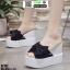 รองเท้าแบบสวมทรงเตารีด ST122-BLK [สีดำ] thumbnail 3