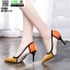 รองเท้าคัชชูส้นเข็ม ST8858-YEL [สีเหลือง] thumbnail 4
