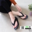 รองเท้าสุขภาพ อีกตัวที่แนะนำในความเลิศ นิ่มมาก Y122-ดำ [สีดำ] thumbnail 1