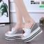 รองเท้าแบบสวมส้นเตารีด ST07-WHI [สีขาว] thumbnail 3