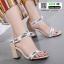 ส้นสูง Style Dior 9123-8-APR [สีแอปริคอท]