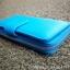 กระเป๋าสตางค์ผู้หญิง ใบยาวสวยงาม สีฟ้า ทำจากหนังวัวแท้แสนนุ่ม ทนทาน โดนน้ำได้ ไม่ลอกร่อน พร้อมกล่องแบรนด์แท้ Moonlight thumbnail 5