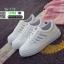 รองเท้าผ้าใบหนัง pu ปักลายใบไม้ SG-170-SIL [สีเงิน] thumbnail 3