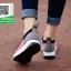 รองเท้าผ้าใบเสริมส้นสีน้ำตาล ทรงสปอร์ต แนวฟิวชั่น (สีน้ำตาล ) thumbnail 4