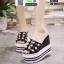 รองเท้าแบบสวมทรงเตารีด ST1804-BLK [สีดำ] thumbnail 2