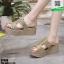 รองเท้าสวมส้นเตารีด ST998-GLD [สีทอง] thumbnail 3