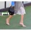 รองเท้าส้นสูง หัวแหลม รัดข้อ 211-9-APR [สีแอปริคอท] thumbnail 4