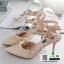 รองเท้าส้นสูง สไตล์ VALENTINO K9014-CREAM [สีครีม] thumbnail 4