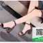 รองเท้าส้นตันรัดข้อสีเทา สไตล์ ZARA (สีเทา ) thumbnail 5