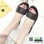 รองเท้าแตะแฟชั่นแบบคาด สวม สีพาสเทล G-1450-BLK [สีดำ] thumbnail 1