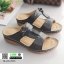 รองเท้าแตะ สไตล์วินเทจ 5943-BLACK [สีดำ] thumbnail 1