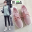 รองเท้าผ้าใบผ้าตาข่ายมีรูระบายอากาศ M27-PNK [สีชมพู] thumbnail 1